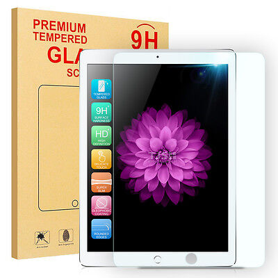 """For New iPad 9.7"""" 2018/2017/Air 1/2/Pro HD Clear Tempered Glass Screen Protector"""