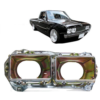 RH Frame Head Lamp Light Housing Bucket Chrome Fits Datsun Pickup 720 80 - 1991 for sale  Shipping to United States