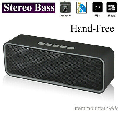 60W Wireless Bluetooth Speaker Outdoor Car Portable Stereo Bass USB Rechargeable