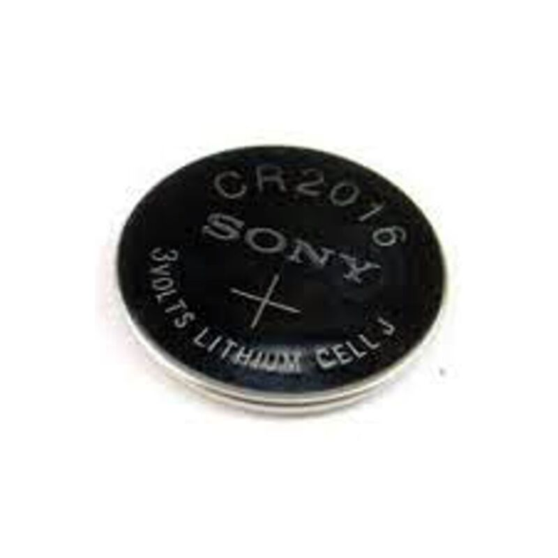 5 NEW SONY CR2016 3V Lithium Coin Battery Expire 2027 FRESHLY NEW - USA Seller