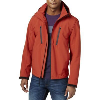 Michael Kors Mens Red Coat Soft Shell Jacket Outerwear Big & Tall 2XB BHFO 4442
