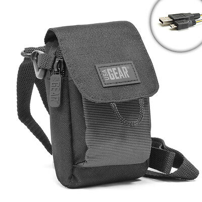 - USA Gear Protective Soft Camera Case w/ Pocket for misc Olympus cameras