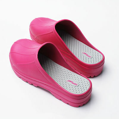 Womens Chef Shoes Slippers Clogs Water Safety Kitchen Non-Slip Comfort US_8