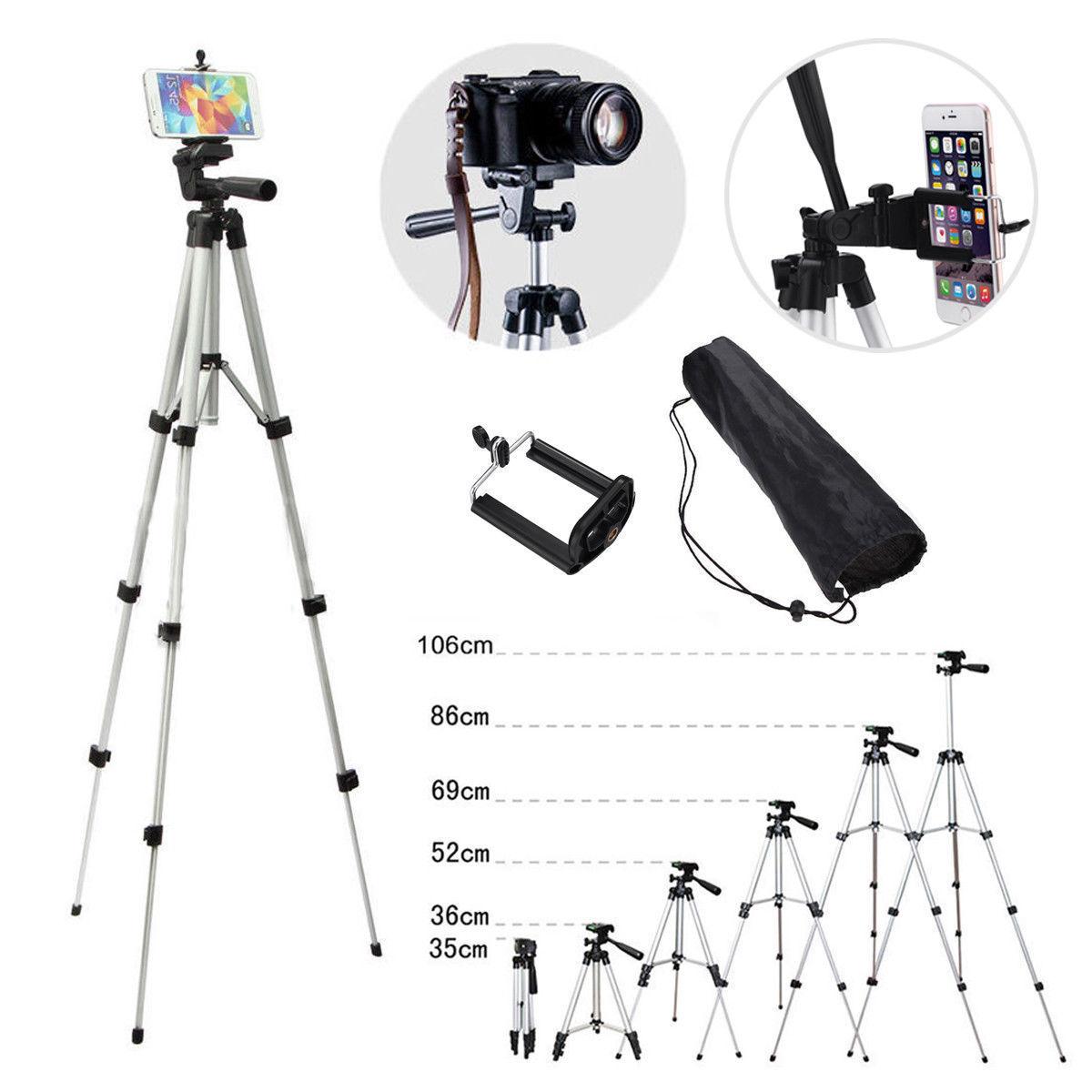 Купить Unbranded/Generic SW-3638 - Portable Professional Adjustable Camera Tripod Stand Cell Phone Mount Holder