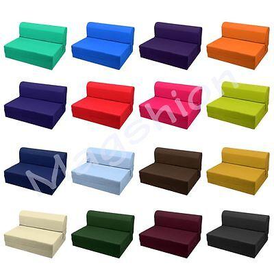 Sleeper Chair Folding Foam Bed/Mattress/Floor/Ottoman Seat Single, Twin, Full Chair Sleeper Foam Furniture