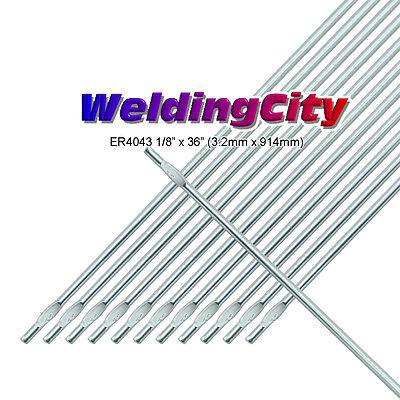 Weldingcity 2-lb Er4043 Aluminum 4043 Tig Welding Filler Rod 18x36 2-lb