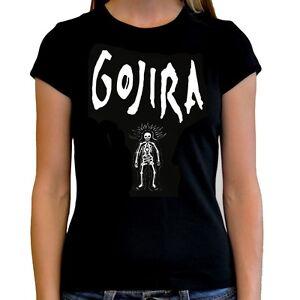 Camiseta-mujer-Gojira-t-shirt-women-varias-tallas-different-sizes