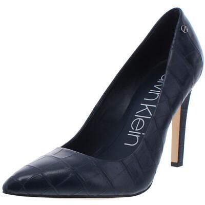 Calvin Klein Womens Brady Navy Pointed Toe Pumps Shoes 11 Medium (B,M) BHFO 8519