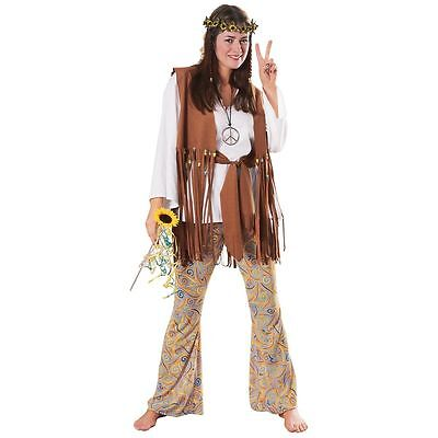Hippie Love Child Costume for Adult Std size fits up to 12 New by Rubies 15858 - Hippie Halloween Costumes For Adults