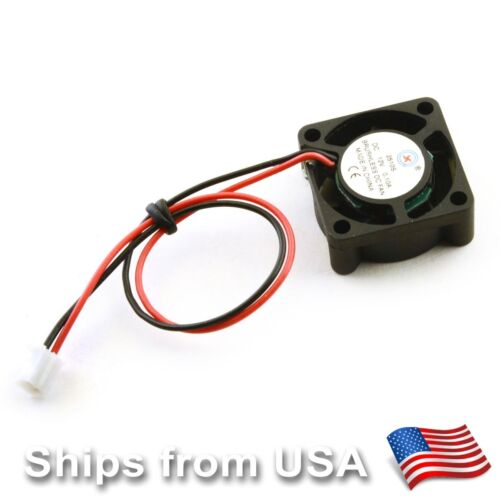 12V Mini Brushless Cooling Fan 2510 25x25x10mm CPU GPU Raspb