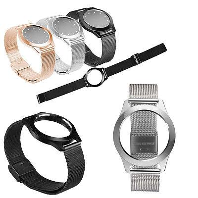 HOT Steel Wristband Strap Bracelet Sleep Fitness Monitor For Misfit Shine 1/2