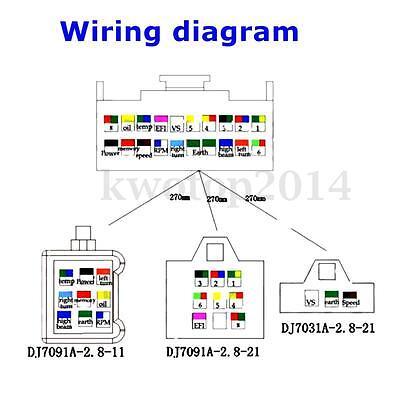 motorcycle tach wiring diagram 2 stroke yamaha tach wiring diagram 15000rpm motorcycle universal lcd digital speedometer ... #12