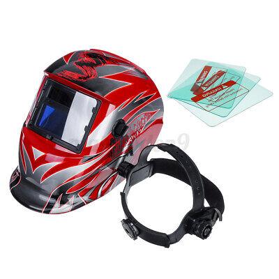 Pro Solar Auto Darkening Welding Helmet Arc Tig Mig Grinding Welder Helmet Us