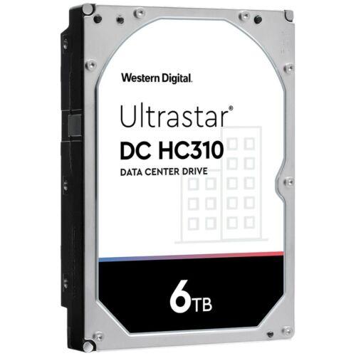 "WD 6TB HUS726T6TALE6 HDD Ultrastar DC HC310 3.5"" Internal Data Center Hard Drive"