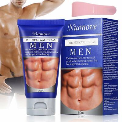 PAINLESS pubic hair removal cream for men Natural bikini area genital area