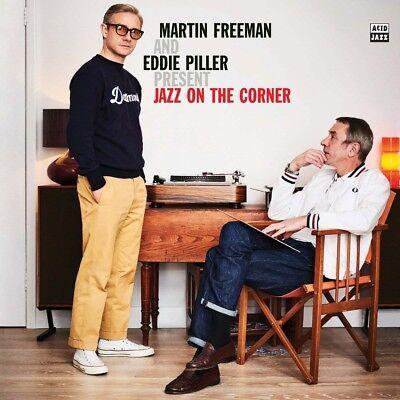 Martin Freeman & E. Piller Jazz On The Corner LP Vinyl NEW 2018