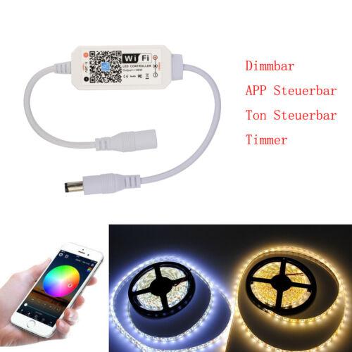 LED Stripe Schwarzlicht 3528 UV IP20 Netzteil WIFI APP Dimmer blacklight Lichter