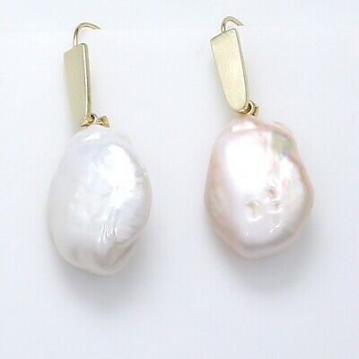 Kendra Scott Darcey Earrings with Baroque Pearls Yellow Gold Jewelry Baroque Pearl Drop Earrings