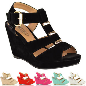 LADIES-WOMENS-SUMMER-WEDGES-LOW-MID-HEEL-COMFORT-GLADIATOR-SANDALS-SHOES-SIZE