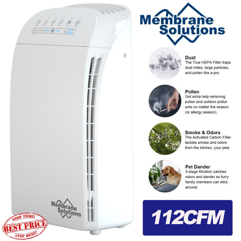 Smart HEPA Air Purifier,5-in-1Large Room Air Cleaner&Deodorizer1500SqFt Coverage
