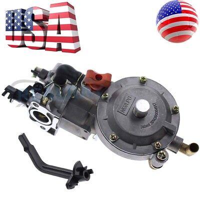 New 170F Dual Fuel Carburetor GX200 LPG Conversion Kit for Generator Propane USA