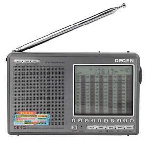 Degen DE1103 DSP Radio Receiver FM / MW AM / SW / LW / SSB (New English Manual)