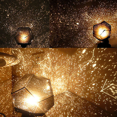 Romantic Astrostar Astro Star Laser Projector Cosmos Light Night SKY Lamp DIY UB