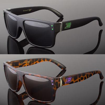 Black Polarized Flat Top Men Glasses Outdoor Sports Eyewear Driving (Top Sports Sunglasses)