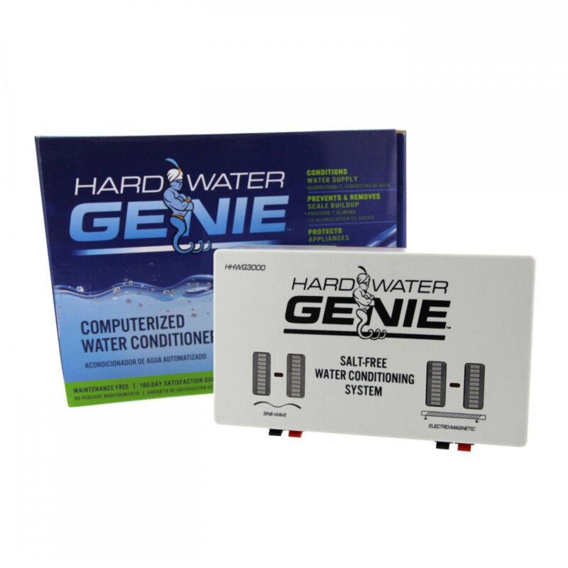 Hard Water Genie Salt-Free Conditioner Softener Treatment and Descaler System