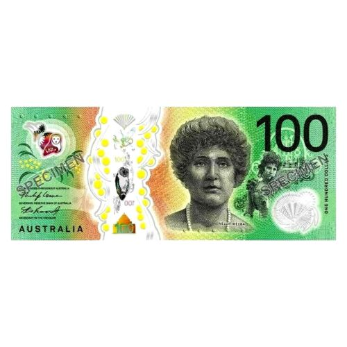Reserve Bank of Australia Next Generation 2020 $100 Uncirculated Banknote Folder