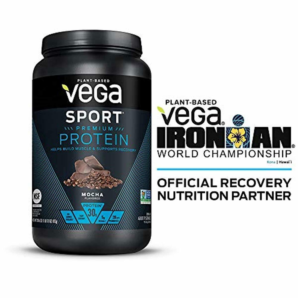 Sport Protein Powder Mocha  Plant-Based Vegan Protein