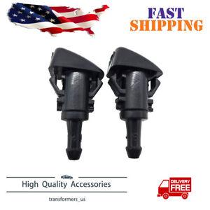 2PCS Windshield Washer Water Nozzle Spray For Chrysler Dodge Ram Dorman 47186