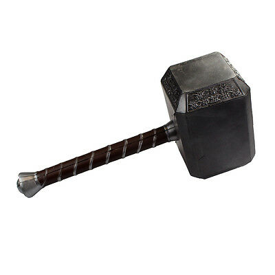 Thors Hammer Mjölnir als Polsterwaffe für Cosplay Superhelden Kostüme Latexwaffe