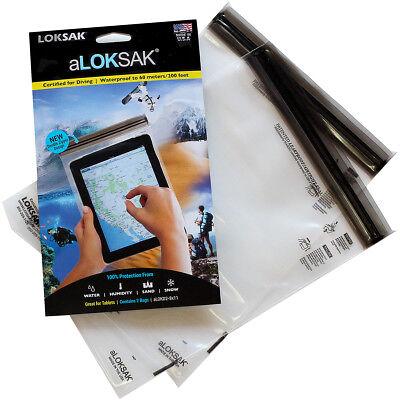 Aloksak Waterproof Bags - Loksak aLoksak Resealable Waterproof Storage Bags (2 Pack) - 8