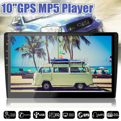"10"" 2 Din Android 8.0 Touch Car Stereo WIFI DVD MP5 Player Radio GPS bluetooth"