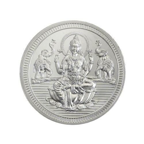 Silver Coin 50 Grams Shree Lakshmi / Laxmi Coin - 50 gm / 50 gms
