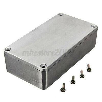 4.4x2.5x1.3 Aluminum Electronics Enclosure Project Box Case Metal Guitar