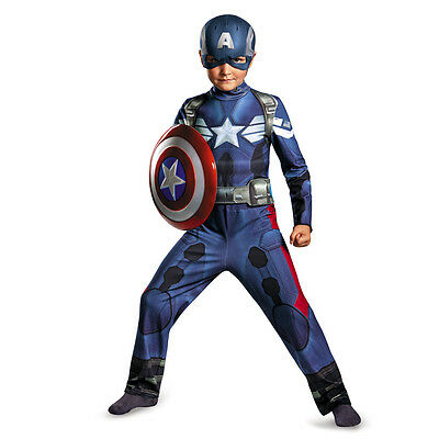 Captain America 2: The Winter Soldier Movie Child Classic Costume Disguise - The Winter Soldier Costume