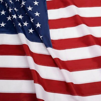 5'x8' ft, American Flag US USA | EMBROIDERED Stars, Sewn Stripes, Brass Grommets