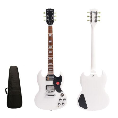 New Single cutaway SGS Custom Electric Guitar Chrome Hardware Fast Shipping