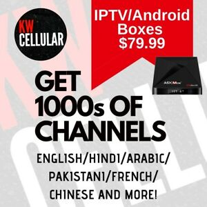 IPTV/Android Boxes Starting at $79.99, Get 1000s of Channels