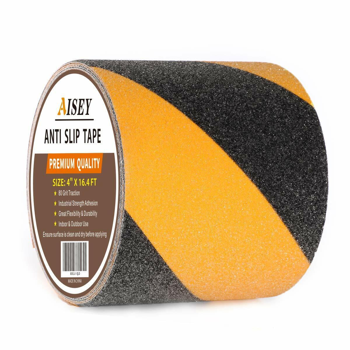 Anti Slip Tape Non Skid High Traction Safety Tape Yellow And