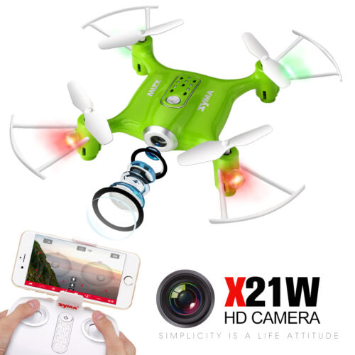 RC Drone Quadcopter SYMA X21W  WIFI FPV HD Camera Helicopter Indoor Outdoor Toy