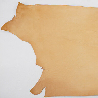 Import Veg Tan Single Cowhide Leather Holster Shoulder 8/9oz 4-6 Square Feet