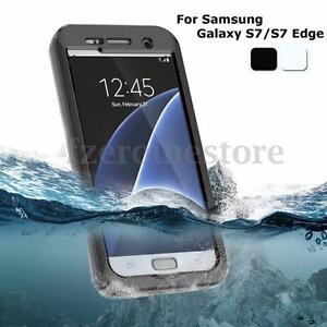 swimming waterproof shockproof lifeproof case cover for samsung galaxy s7 edge ebay. Black Bedroom Furniture Sets. Home Design Ideas