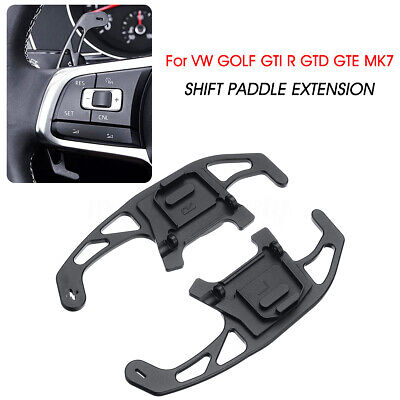 Steering Wheel Shift Paddle Extension For VW GOLF GTI R GTD GTE MK7 Scirocco UK
