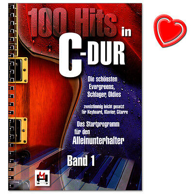 100 Hits in C-Dur Band 1 - Verlag Bosworth - BOE7696 - 9783865438010
