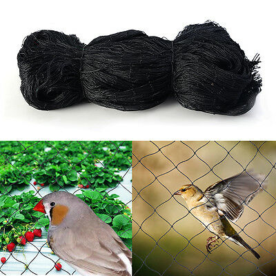 Anti Bird Netting 50x50 Soccer Baseball Game Poultry Fish Net 2x2 Mesh New