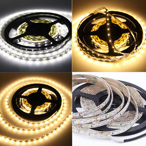 1-20M-10M-Bande-kit-3528-SMD-300-LED-Strip-Ruban-12V-Adaptateur-Alimentation