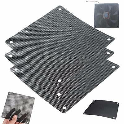 2Pcs Cuttable PVC PC Fan Dust Air Filter Dustproof Computer Case Mesh 120x120mm